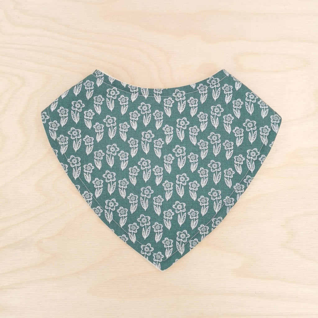 Forest Flowers Dribble Bib