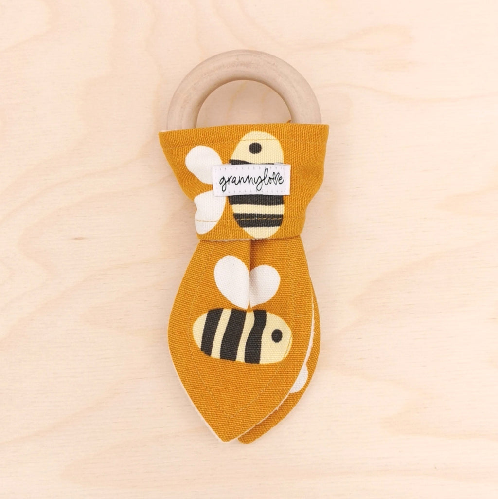 Big Buzz Teething Ring