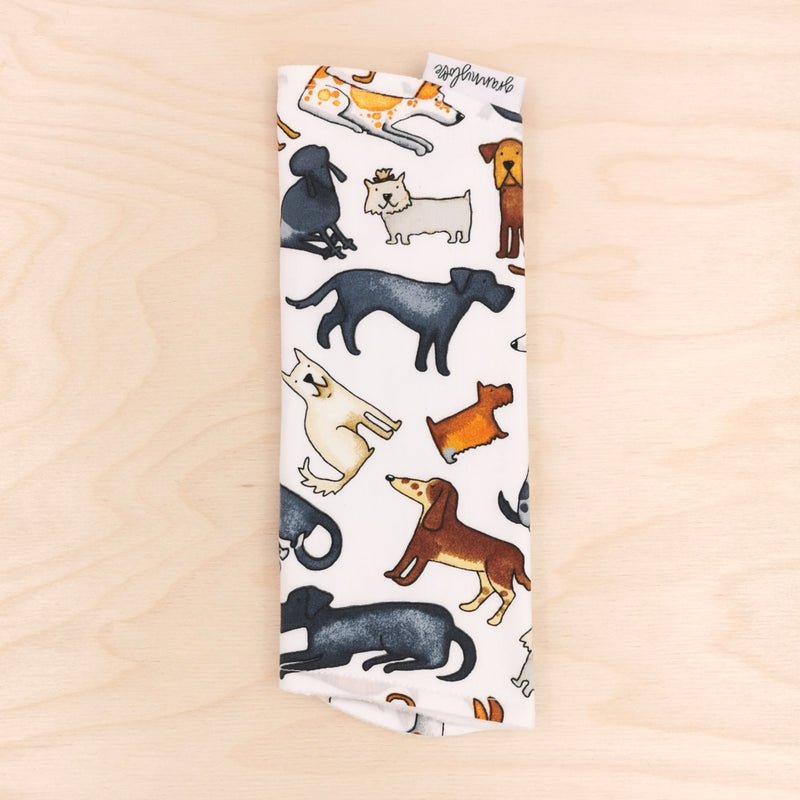 Lotsa Dogs Burp Cloth