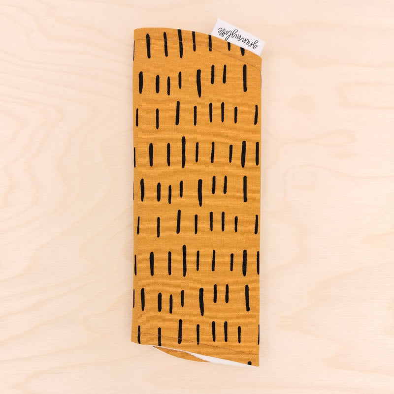 Mustard Dash Burp Cloth