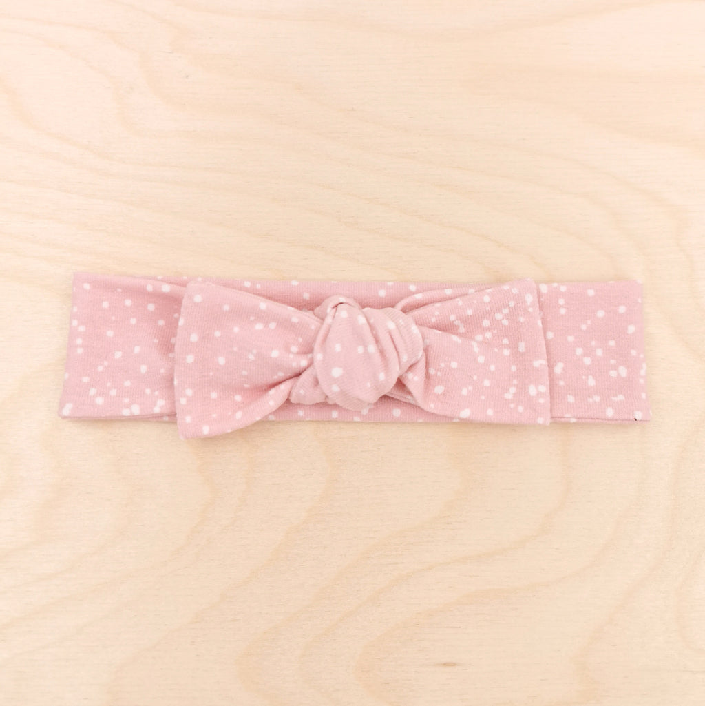 Pink Sprinkle Bow-Band