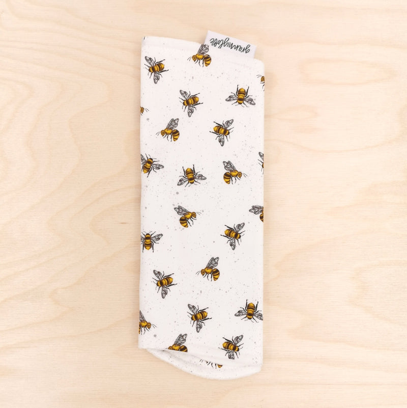 What's Buzzing? Burp Cloth