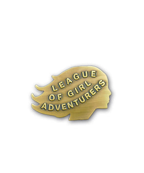 League of Girl Adventurers Pin