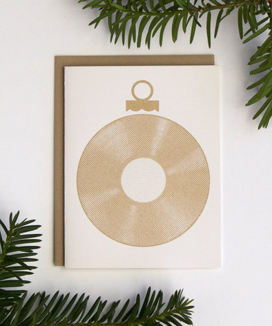 Gold Record Card