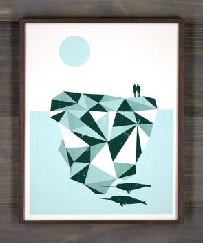 Iceberg Screen Print