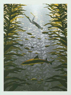 Kelp Forest Screen Print