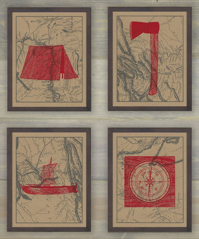 Lewis and Clark Supplies Screen Prints