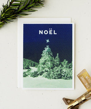 Noel Holiday Card