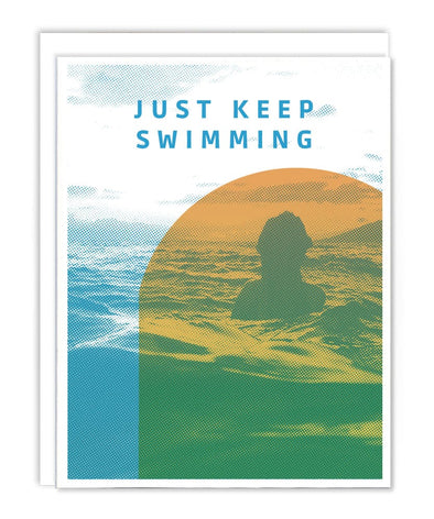 Keep Swimming Card