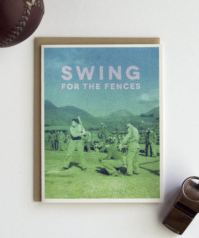 Swing for the Fences Card