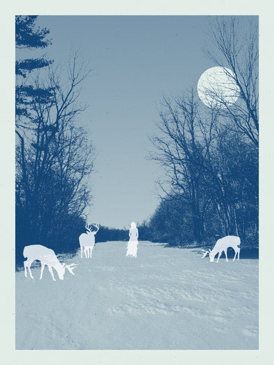 Woodland Ghosts Screen Print