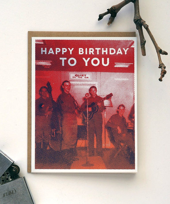 Rock 'n Roll Birthday Card