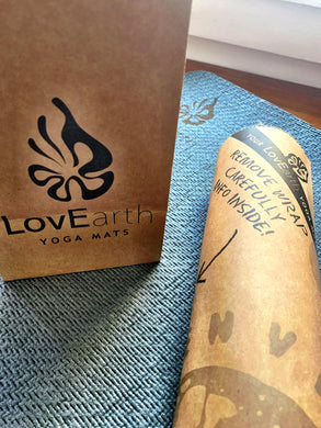 LovEarth Charcoal Yoga Mat Without Bag