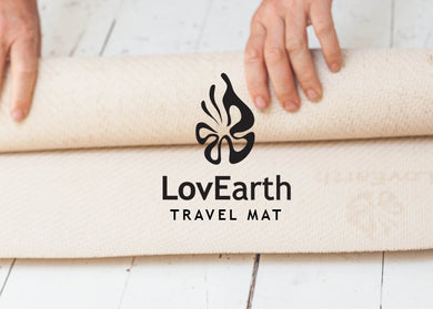 LovEarth Travel Mat with bag - Now Includes Anti-Microbial Polygiene