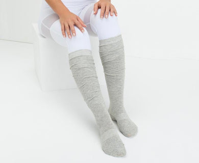 Over the Knee Non-Slip Grip Socks