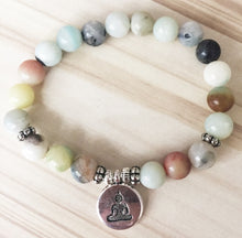 Load image into Gallery viewer, Buddha Mala bead Bracelet