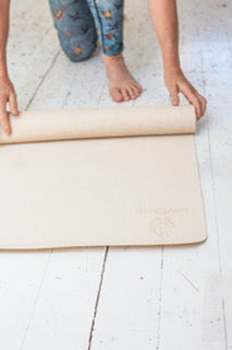 LovEarth Yoga Mat - Without Bag - Now Includes Anti-Microbial Polygene
