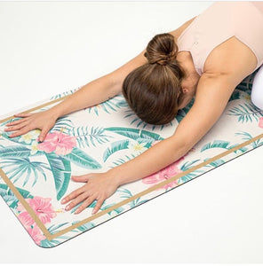 Move Active Luxe Eco Yoga Mat - Island Escape. Free shipping