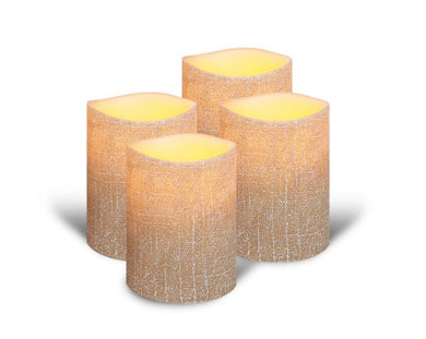 ENJOY Linen Collection - Linseed Linen Finish Wax Pillar