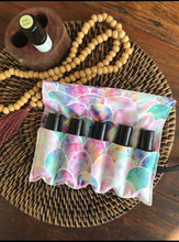 Load image into Gallery viewer, Essential Oil Rollerball Pouch - Mermaid Inspired