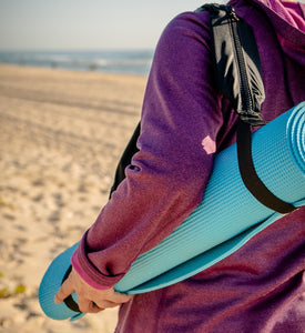 Zen Yoga Mat Pocket Strap