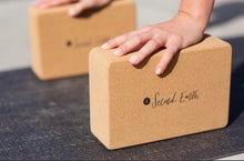 Load image into Gallery viewer, Second Earth Natural Cork Yoga Block
