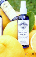 Load image into Gallery viewer, Yoga Mat Spray / Odour Neutraliser / Intention Setting / Gym Bag spray: Japanese Yuzu Orange