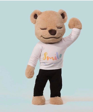 Smile Shirt- Yoga T-shirt for Meddy Teddy