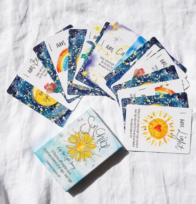 Sunchild's Affirmation Cards