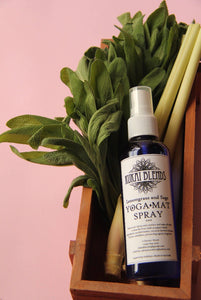Yoga Mat Spray / Odour Neutraliser / Intention Setting / Gym Bag spray: Lemongrass and Sage