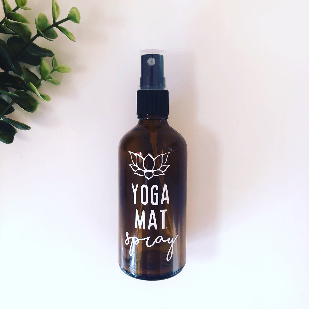 Yoga Mat Spray Bottle