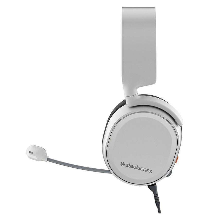 SteelSeries Arctis 3 7.1 Surround Headset [2019 Edition] - White - 3.5mm Jack
