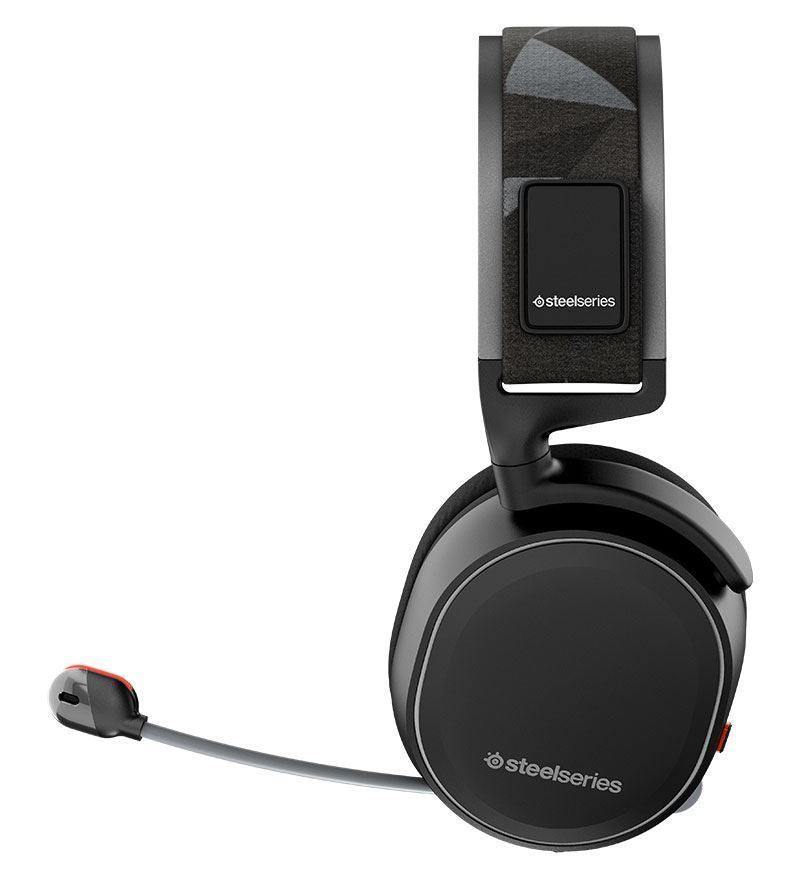 SteelSeries Arctis 7 7.1 Surround Lag-Free Wireless Headset [2019 Edition] - Black