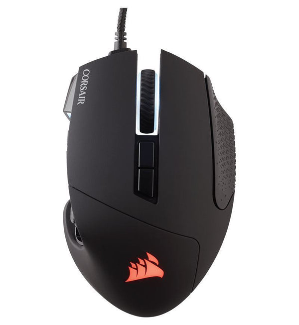 Corsair Gaming Scimitar RGB MOBA/MMO 12,000 DPI  Optical Mouse — Black