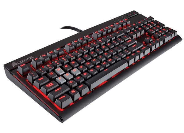Corsair Gaming STRAFE Mechanical Keyboard RED LED (UK) — Cherry MX Brown Switches
