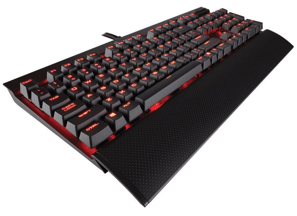 Corsair Gaming K70 Red LED RAPIDFIRE Mechanical Keyboard — Cherry MX Speed Switches
