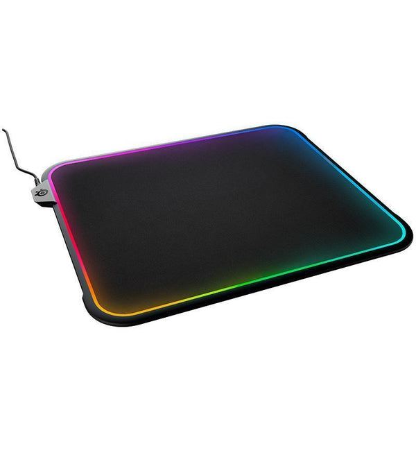 SteelSeries QcK Prism RGB Dual Cloth/Hard Mouse Pad — Medium