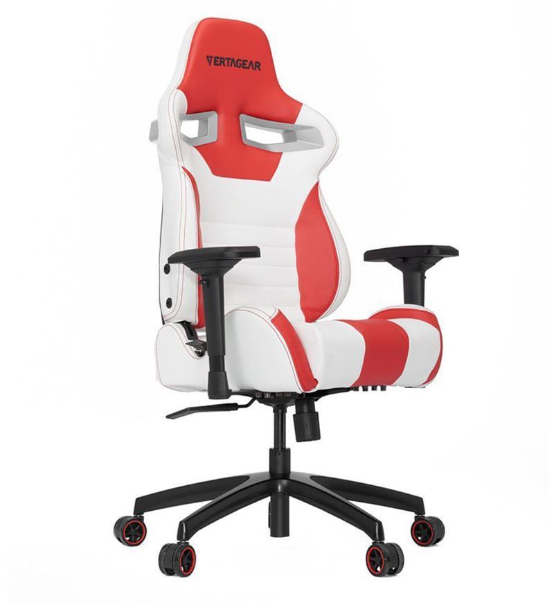 Vertagear Racing Series SL4000 Chair — White/Red