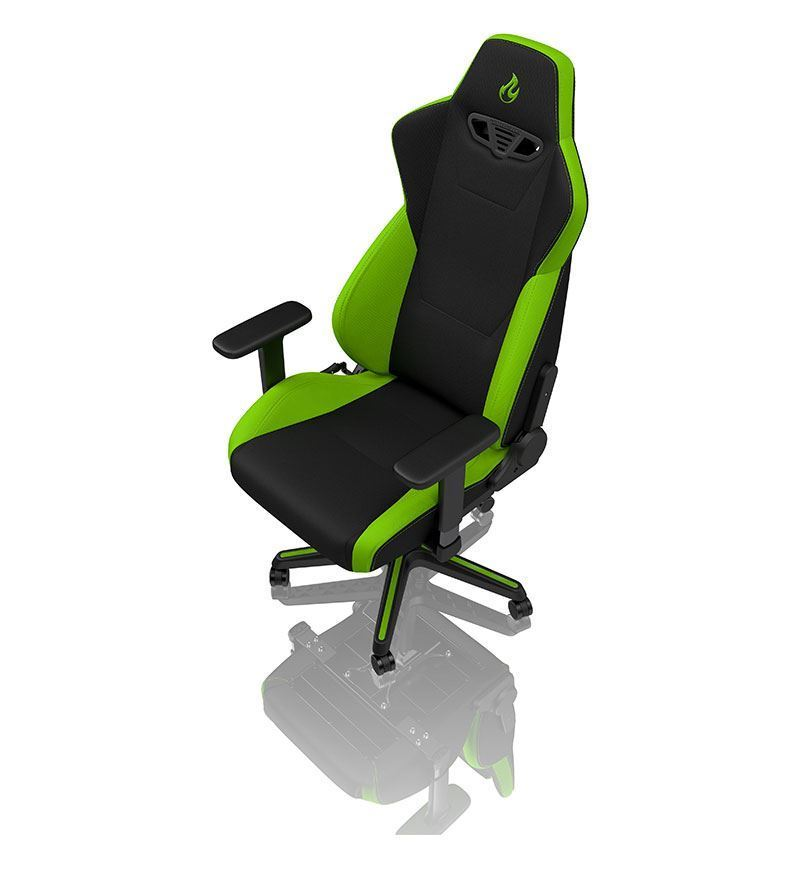 Nitro Concepts S300 Fabric Chair - Atomic Green