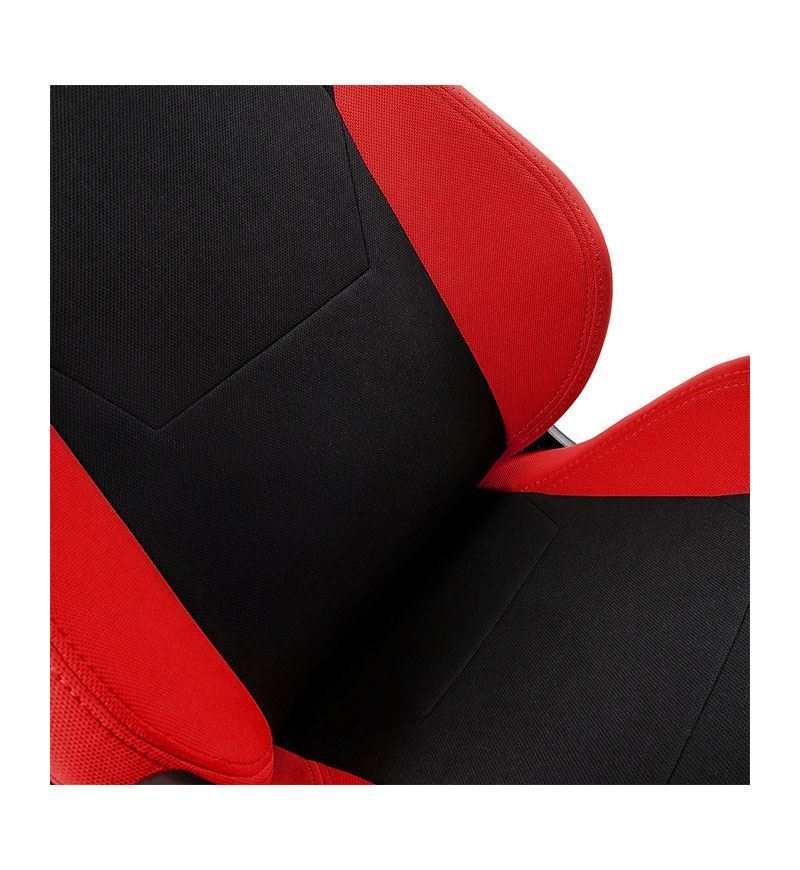 Nitro Concepts S300 Fabric Chair — Inferno Red