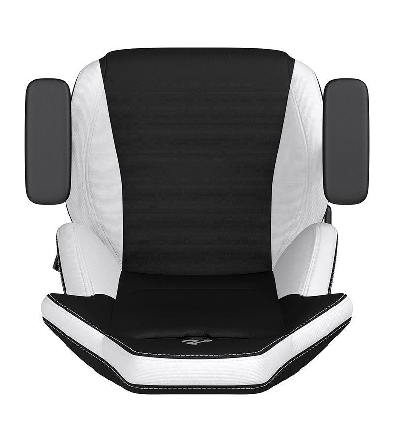 Nitro Concepts S300 Fabric Chair — Radiant White
