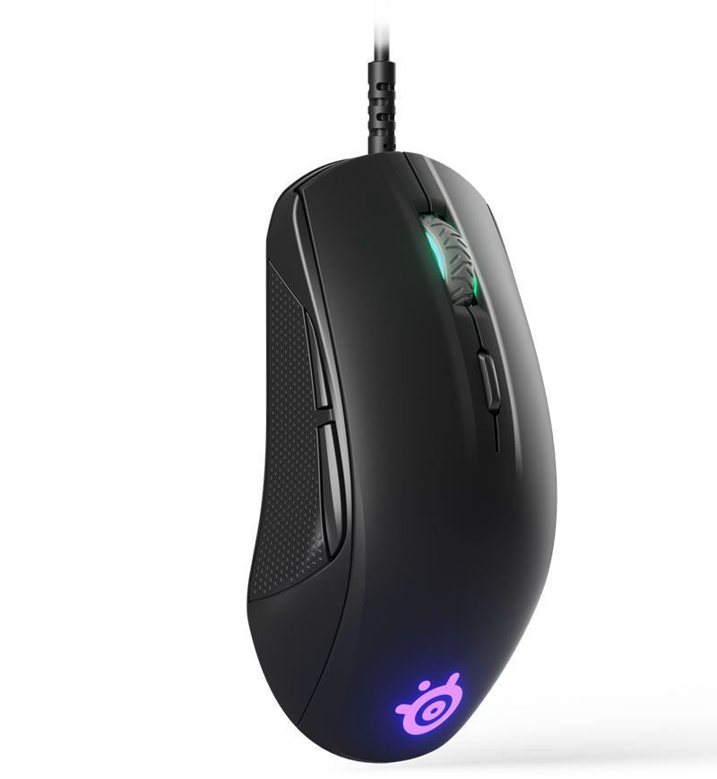 SteelSeries Rival 110 7,200 DPI Optical Mouse — Black
