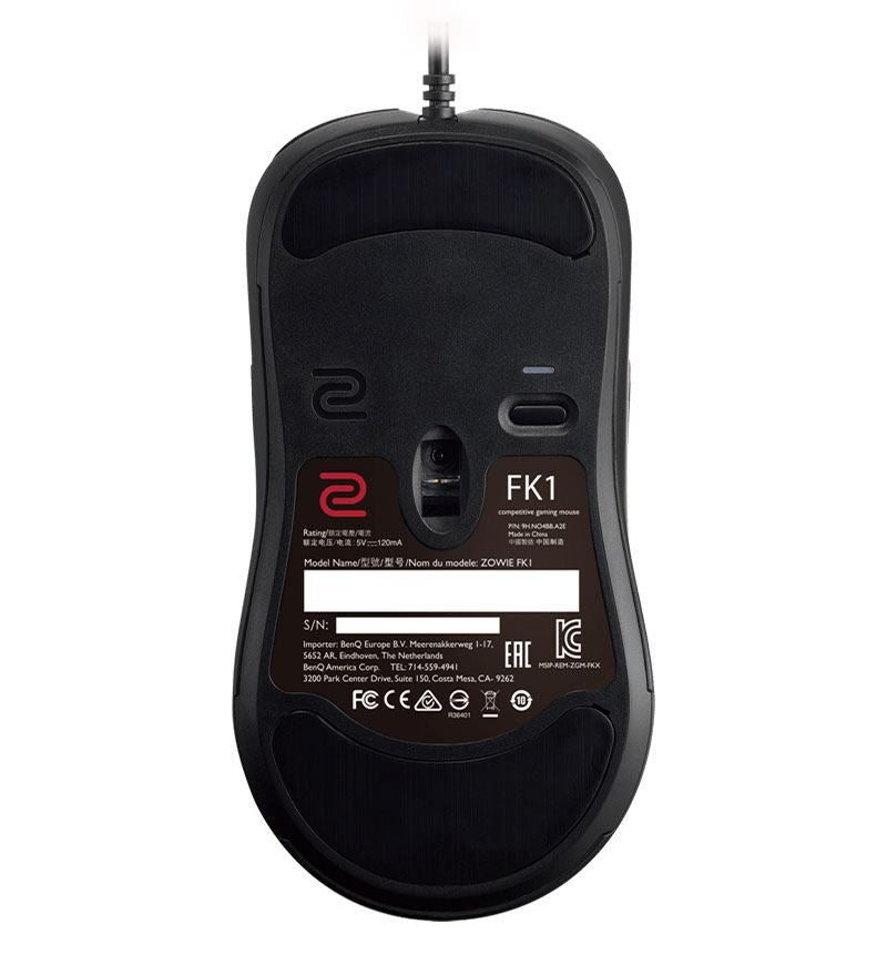 ZOWIE FK1 Ambidextrous 3,200 DPI Optical Gaming Mouse