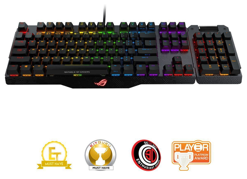 Asus ROG Claymore RGB Mechanical Keyboard — Cherry MX Blue Switches
