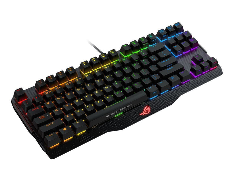 Asus ROG Claymore Core Mechanical Keyboard — Cherry MX Red Switches (80%)