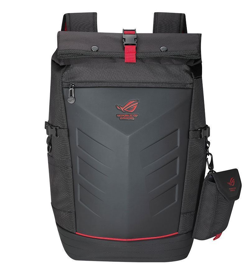"Asus ROG Ranger 36L Backpack - Up to 17"" Laptop - Black/Red"