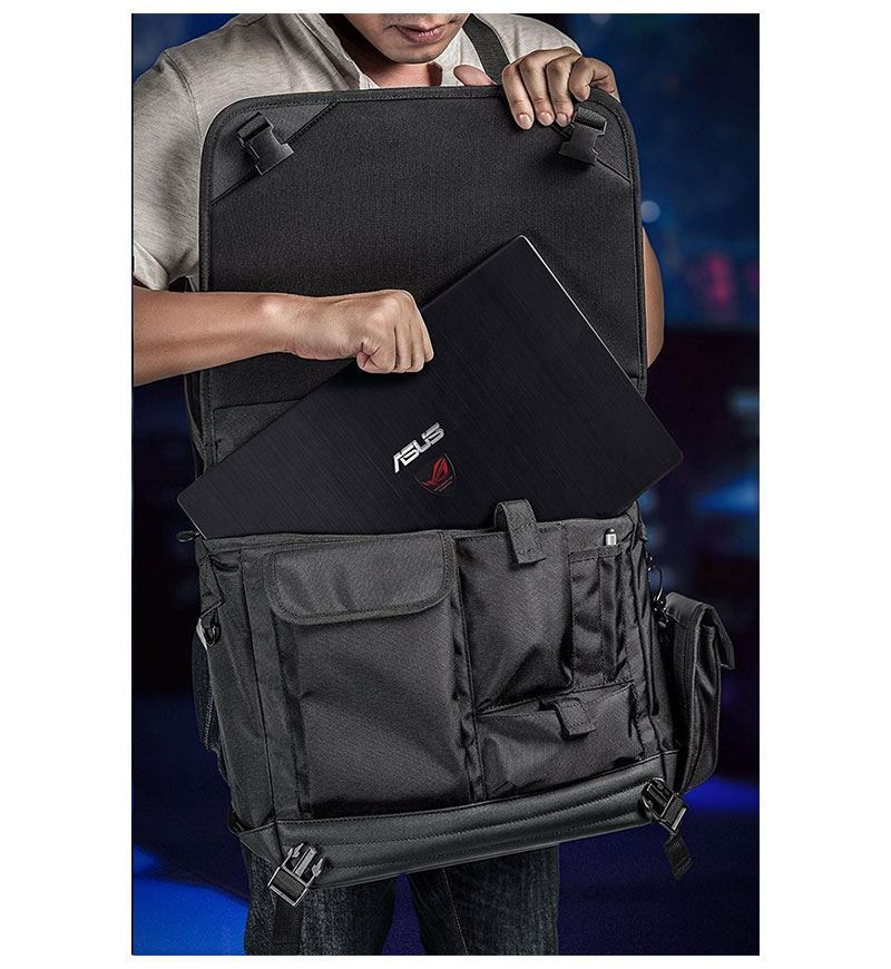 "Asus ROG Ranger Messenger — Up to 15.6"" Laptop"