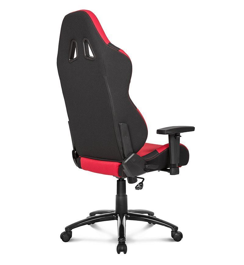 AKRacing Core Series EX Wide Fabric Gaming Chair — Red/Black
