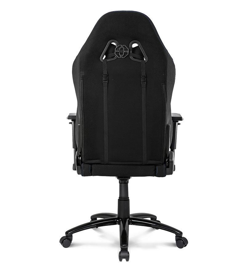 AKRacing Core Series EX Wide Fabric Gaming Chair — Black/Blue