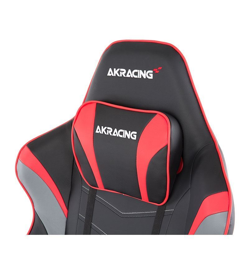 AKRacing Master Series MAX PU Leather Gaming Chair — Red